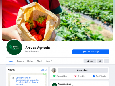 Arouca Agricola Facebook page
