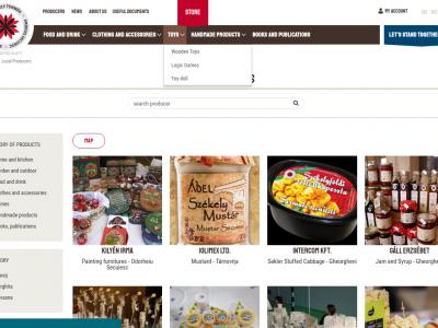 Harghita County Local Food & Craft Platform
